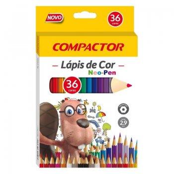 LAPIS DE COR 36 CORES NEO PEN COMPACTOR