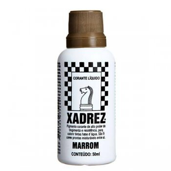 CORANTE XADREZ 50 ML MARROM