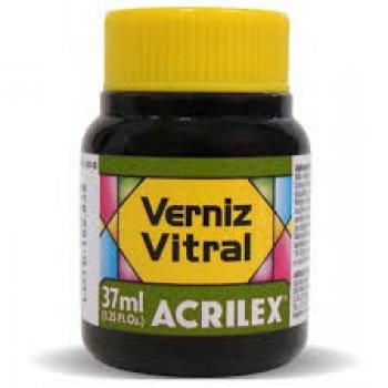 VERNIZ VITRAL ACRILEX 37 ML 545 VERDE OLIVA