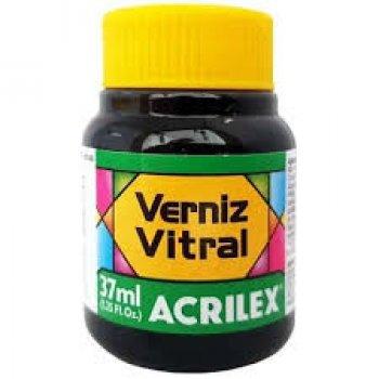 VERNIZ VITRAL ACRILEX 37 ML 546 VERDE PINHEIRO