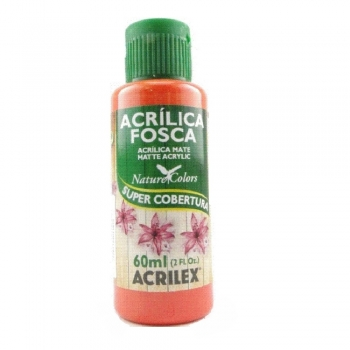 TINTA ACRILEX  ACRIL.FOSCA 60 ML 541 VERM VIVO