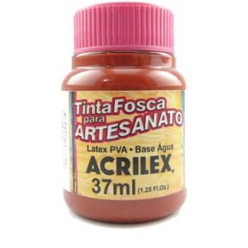 TINTA ACRILEX FOSCA P/ARTES. 37ML 506 CERAMICA