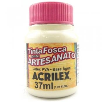 TINTA ACRILEX FOSCA P/ARTES. 37 ML 834-PALHA