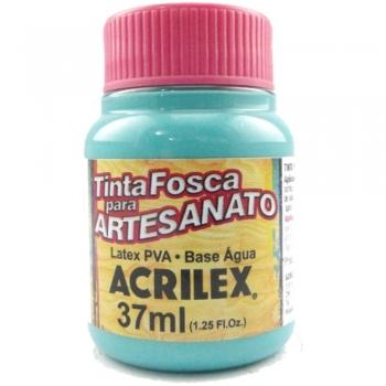 TINTA ACRILEX FOSCA P/ARTES. 37 ML 577-TURQUEZA