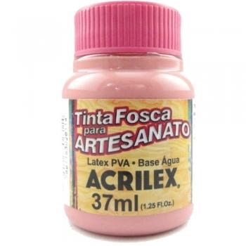 TINTA ACRILEX FOSCA P/ARTES. 37 ML 828-ROSA ANTIGO