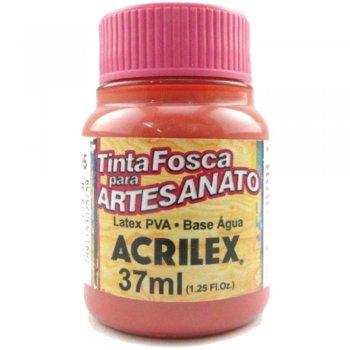 TINTA ACRILEX FOSCA P/ARTES. 37 ML 805-GOIABA QUEI