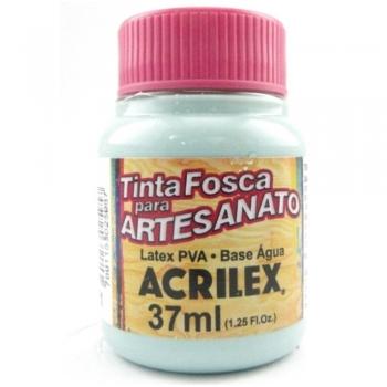 TINTA ACRILEX FOSCA P/ARTES. 37 ML 821-VD AGUA