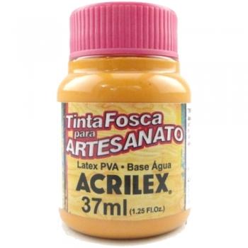 TINTA ACRILEX FOSCA P/ARTES. 37 ML 830-TERRACOTA