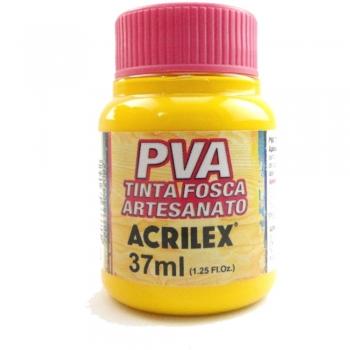 TINTA ACRILEX FOSCA P/ARTES. 37 ML 505-AM. OURO