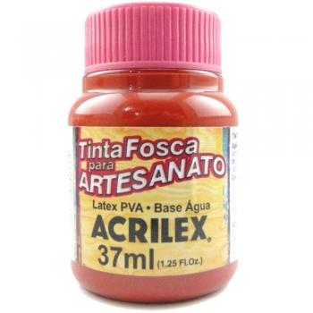 TINTA ACRILEX FOSCA P/ARTES. 37 ML 508-VERM ESCARL
