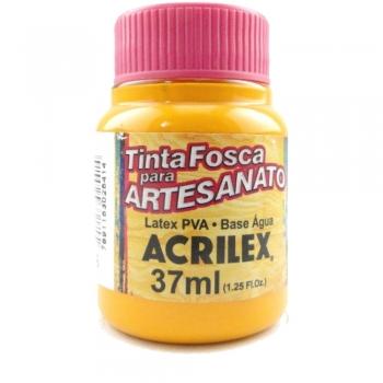TINTA ACRILEX FOSCA P/ARTES. 37 ML 536 AMAR CADMIO