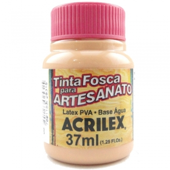 TINTA ACRILEX FOSCA P/ARTES. 37 ML 518 SALMAO