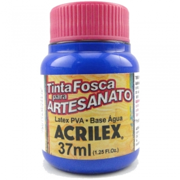 TINTA ACRILEX FOSCA P/ARTES. 37 ML 543 AZ ULTRAMAR