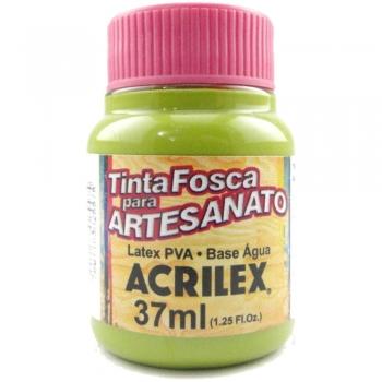 TINTA ACRILEX FOSCA P/ARTES. 37 ML 570 VD PISTACHE