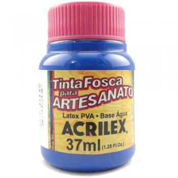 TINTA ACRILEX FOSCA P/ARTES. 37 ML 535 AZUL MAR
