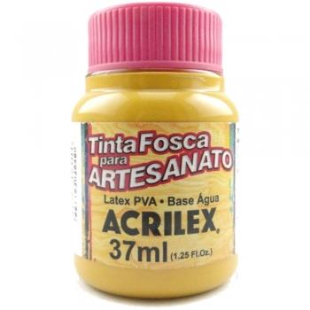 TINTA ACRILEX FOSCA P/ARTES. 37 ML 564 AMARELO OCR
