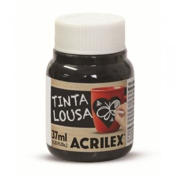 TINTA LOUSA 37 ML PRETO 520 ACRILEX