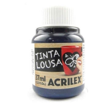 TINTA LOUSA 37 ML ACRILEX 521 AZUL
