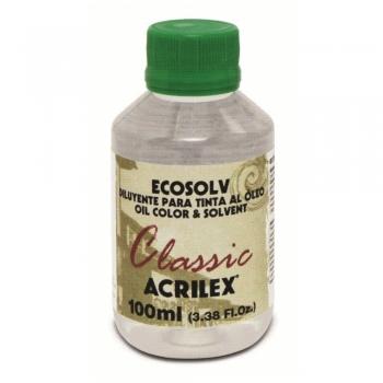 SOLVENTE ECOSOLV ACRILEX  100 ML