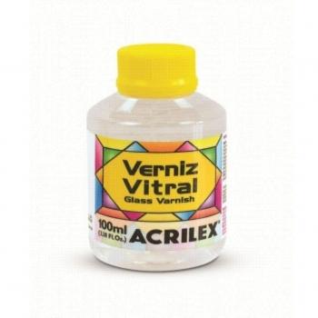 VERNIZ VITRAL ACRILEX 100 ML - 500 INCOLOR