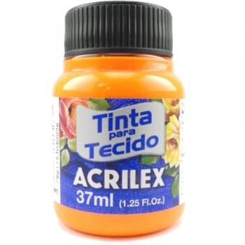 TINTA TECIDO FLUOR ACRILEX 37 ML 108 AM.OURO