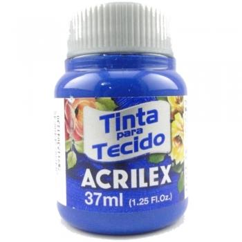 TINTA TECIDO FOSCA ACRILEX 37 ML 502-AZ.COBALTO