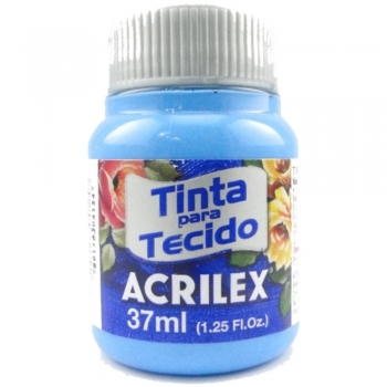TINTA TECIDO FOSCA ACRILEX 37 ML 503-AZ.CELESTE