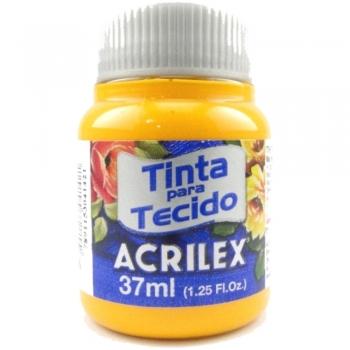 TINTA TECIDO FOSCA ACRILEX 37 ML 536 AM.CADMIO