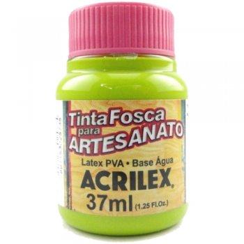 TINTA ACRILEX FOSCA P/ARTES. 37 ML 802-VD MAÇA
