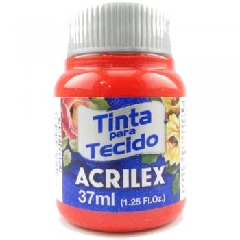 TINTA TECIDO FOSCA ACRILEX 37 ML 541 VERM.VIVO