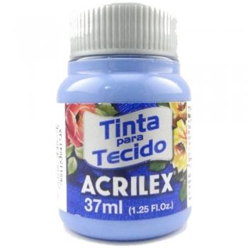 TINTA TECIDO FOSCA ACRILEX 37 ML560 AZ.CARIBE