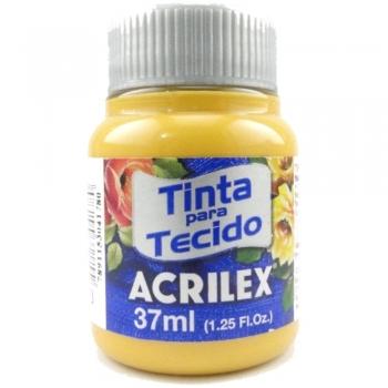 TINTA TECIDO FOSCA ACRILEX 37 ML 573 OCRE OURO