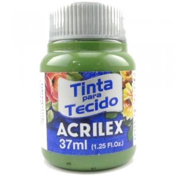 TINTA TECIDO FOSCA ACRILEX 37 ML 582 VD.GRAMA