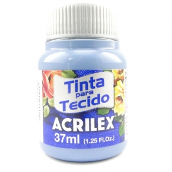 TINTA TECIDO FOSCA ACRILEX 37 ML 584 AZUL INVERNO