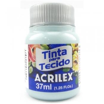 TINTA TECIDO FOSCA ACRILEX 37 ML 552  VD GLACIAL