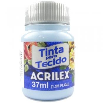 TINTA TECIDO FOSCA ACRILEX 37 ML 579 AZ  HORTENSIA