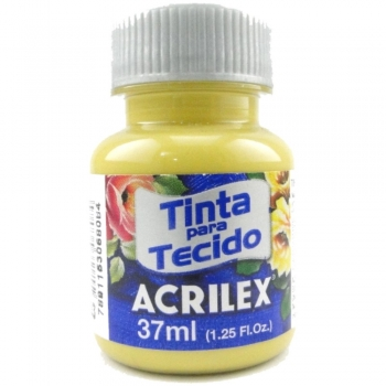 TINTA TECIDO FOSCA ACRILEX 37 ML 593 MOSTARDA
