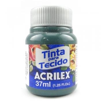 TINTA TECIDO FOSCA ACRILEX 37 ML 629 CINZA ONIX