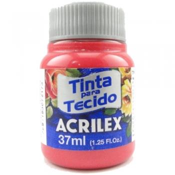 TINTA TECIDO FOSCA ACRILEX 37 ML 800 VERM. BEBE