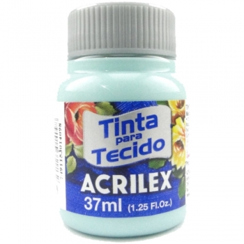 TINTA TECIDO FOSCA ACRILEX 37 ML 810 VERDE BEBE