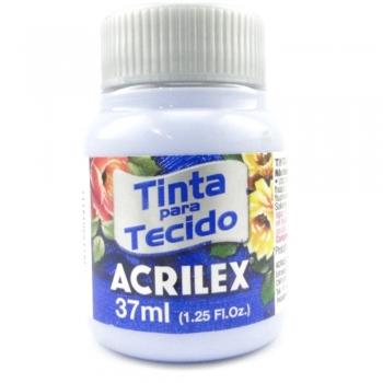 TINTA TECIDO FOSCA ACRILEX 37 ML 811 AZUL BEBE