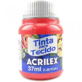 TINTA TECIDO FOSCA ACRILEX 37 ML 984 VERM. NATAL