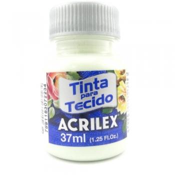 TINTA TECIDO FOSCA ACRILEX 37 ML 989 ERVA DOCE