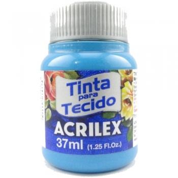 TINTA TECIDO FOSCA ACRILEX 37 ML 535 AZUL MAR