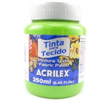 TINTA TECIDO FOSCA ACRILEX 250 ML - 510 VD FOLHA