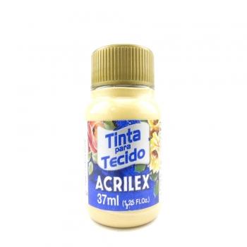 TINTA TECIDO METALICA ACRILEX 37 ML 532 OURO