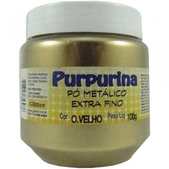 PURPURINA OURO VELHO 100 GR GLITER