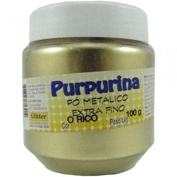 PURPURINA OURO RICO POTE 100 GR. GLITER