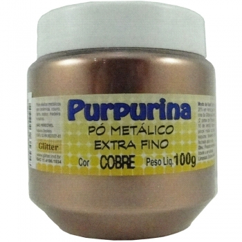 PURPURINA COBRE POTE 100 GR. GLITER