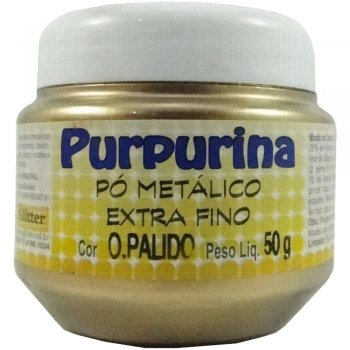 PURPURINA OURO PALIDO 50 GR GLITER